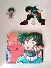 My Hero Academia Izuku Midoriya | Wallet +Ring Grip Phone Stand + STICKER VINYL