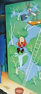 VIRGIL ROSS Warner Brothers LOONEY TUNES Limited Edition Cel HIGH DIVING SAM