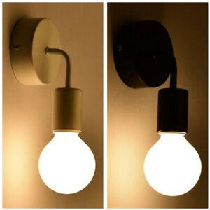 Wall Lamps Modern Sconce Lamp Bedside E27 Light Reading Vintage Lights