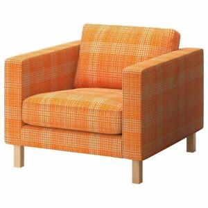 NIP IKEA Karlstad Slipcover for Armchair 902.547.09 House Orange New