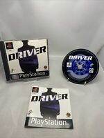 Driver Platinum (Sony PlayStation 1, 2001) - Pal Version Complete With Manual