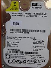 250gb western digital WD 2500 BEVS - 00ust0 | facvjabb | 28 apr 2008 #640