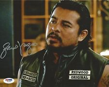 Jacob Vargas Signed 8x10 Photo PSA/DNA COA SOA Picture Autograph Sons of Anarchy