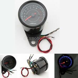 Black LED Tachometer For Yamaha V-Star XV250 XVS650 950 1300 1100 Classic Custom