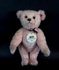 Steiff Teddybär in rosarot  - Steiff Galerie - limitiert  2000