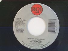 "MITCH MALLOY ""ANYTHING AT ALL / MIRROR MIRROR"" 45 NEAR MINT"