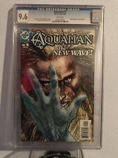 Dc Comics - 2003 Cgc 9.6 Aqauman #1 Veitch Guichet Prost White Pages