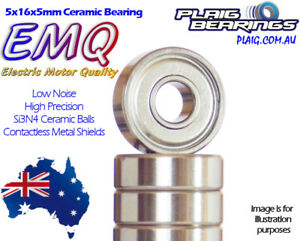 Electric Motor Quality Bearings - EMQ High Precision Low Noise Steel & Ceramic