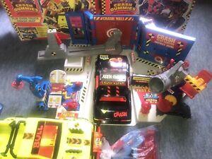 Tyco Incredible Crash Dummies Test Centre Toys Action Figure Car Vintage Toys