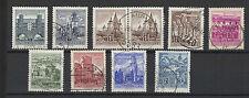 1957/65 AUTRICHE 10 Timbres anciens oblitérés /T1173
