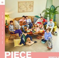 Used MONSTA X PIECE First Limited Edition Type A CD DVD Japan 4988031271445
