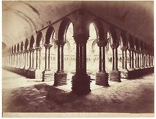 Italie Palerme Monreale Photo G. Incorpora Vintage Albumen ca 1880