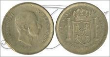 España - Monedas centenario- Año: 1880 - numero 00108a - MBC Alfonso XII (Filipi