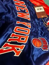 7ba467b60 New York Knicks Mitchell   Ness NBA Tough Season Satin Jacket