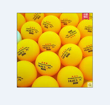 100Pcs 3-Stars 40mm Olympic Table Tennis  Ping pong Balls orange & free shipping