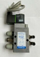 Festo Mfh 5 18 Solenoid Valve Type 9982 With Airtec Sp011g Coil 24v