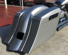 """5 1/2"""" Stretched Saddlebags Replacement Fender & Lids Fits 99 & up Road Star"""
