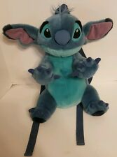 "Disneyland Resort Lilo STITCH Backpack Plush Bag Toy Stuffed Animal 15"" Cartoon"