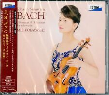 MIE KOBAYASHI-J.S. BACH: SONATAS AND PARTITAS FOR SOLO VIOLIN...-JAPAN 2 CD I19