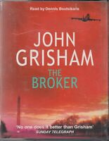 John Grisham The Broker 4 Cassette Audio Book Dennis Boutsikaris Thriller