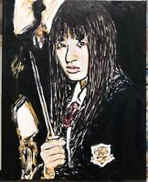 """Crazy 88"", Kill Bill #michaelscottwoodcock  Art Original Oil Painting Canvas"