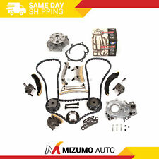 Timing Chain Kit Oil Pump GMB Water Pump Fit 07-16 Buick Cadillac Suzuki 3.6L