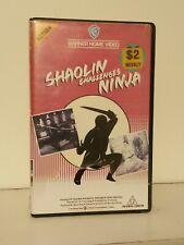 Shaolin Challenges Ninja 1978 VHS Warner