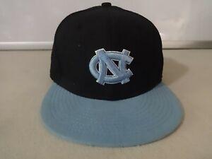 NWOT New Era 5950 NCAA North Carolina Tarheels Men Fitted 6 5/8 Lid Ballcap Hat