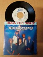 "Europe-Rock The Night,7"",45 RPM,Single-Sammlung Rock Sweden 1986"
