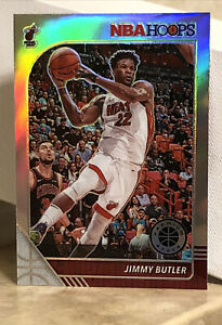 2019-20 2020 NBA HOOPS PREMIUM STOCK # 146 JIMMY BUTLER SILVER PRIZM Refractor