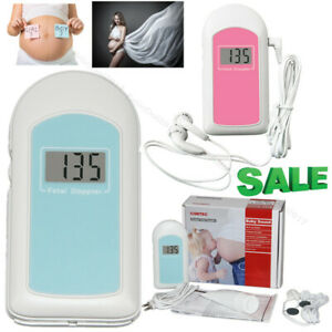 pocket fetal doppler/prenatal heart monitor baby heart beat Baby Sound+GEL FDA