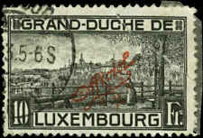 Luxembourg Scott #O141 Used