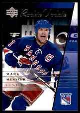 2002-03 Upper Deck Rookie Update Mark Messier #67