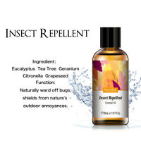 Aromatherapy Insect Repellent Essential Oils Organic Essential Oil Fragrances