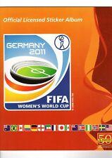 Panini Sticker Frauen WM 2011 aussuchen Nr. 1 Pokal