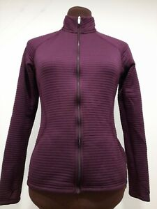 Adidas Womens 3 Stripe Full Zip Golf Sports Jacket Lightweight Top XS Sports