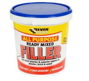 ALL PURPOSE READY MIXED FILLER , PLASTER, 1 KG. EVERBUILD