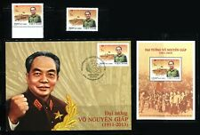 Post Viet Nam Date of Issue2017: General Vo Nguyen Giap, 1911-2013