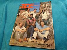 Vtg 1981 Southern Mississippi Alabama Crimson Tide Football Legion Fld Program