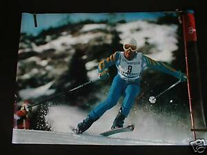 RARE INGEMAR STENMARK 1979 VINTAGE OLYMPIC SKI POSTER