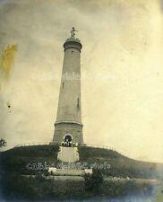ca 1905 - Myles Standish Monument, near Duxbury MA -- Original Albumen Photo