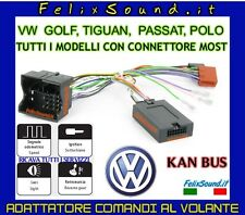 VW INTERFACCIA COMANDI AL VOLANTE CANBUS CON CONNETTORE MOST