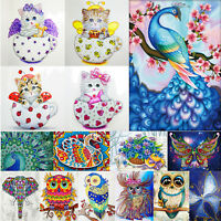 5D DIY Special Shape Diamond Painting Butterfly Cross Stitch Embroidery Mosaic