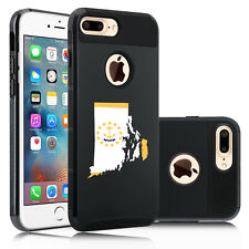 For Apple iPhone X SE 5 6 6s 7 8 Plus Shockproof Hard Case Cover Rhode Island
