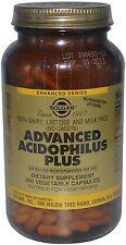 Advanced Acidophilus Plus, Solgar, 120 capsule