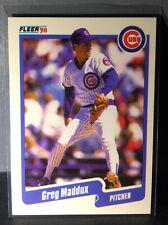 1990 Greg Maddux Fleer Baseball Card #37