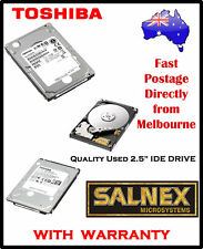 "Toshiba 40GB 2.5""  IDE Hard Drive Model: MK4019GAXB  IBM Part No : 19K1692"