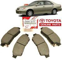 04465-06100 GENUINE TOYOTA OEM 2007-2010 Toyota Camry Front Brake Pad Kit