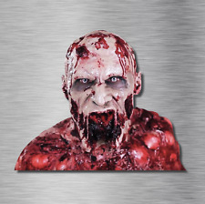 Horror Laptop Decal Sticker Bloody Zombie man Sticker Dead JDM window Skateboard