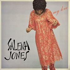 LISTEN SALENA JONES MY LOVE FEAT. STUFF STEVE GADD JAPAN ONLY LP VIJ-28013 EX